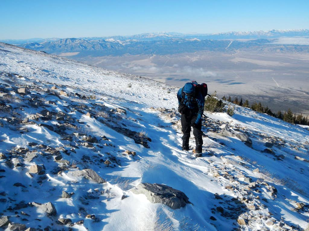 Josh Climbing Wheeler