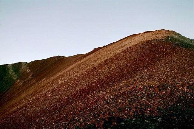 The summit of Polaris Pt....