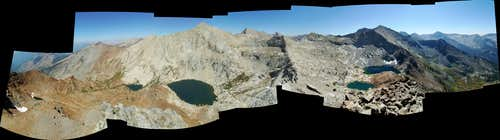 Mineral Peak Summit Panorama