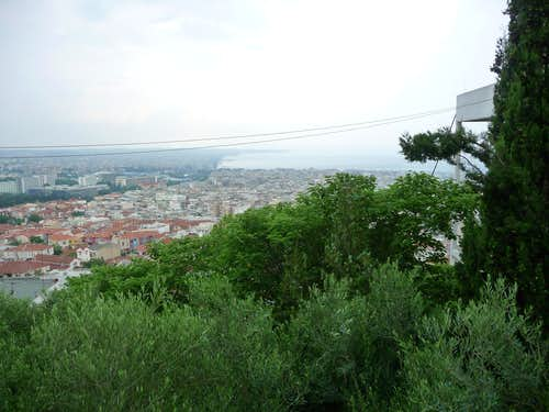 Thessaloniki from the hill