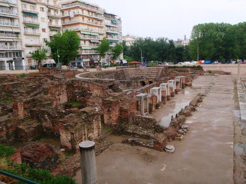Roman Forum in Thessaloniki