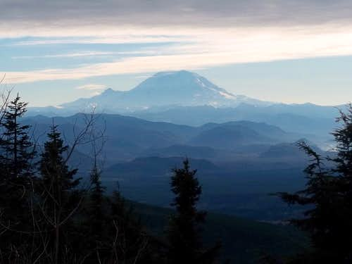 Rainier from East Tiger Summit