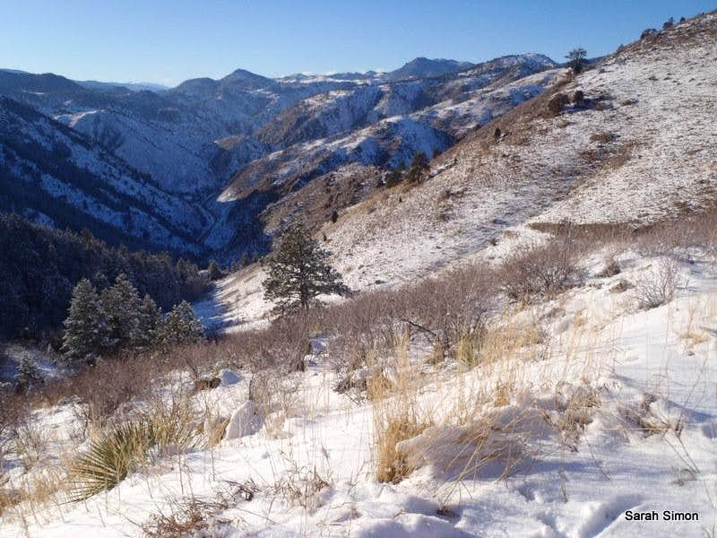 Winter views, Windy Saddle