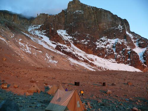 Arrow Glacier Camp