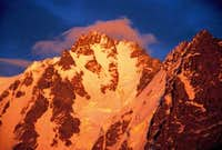 The  golden  peak of Bogda....