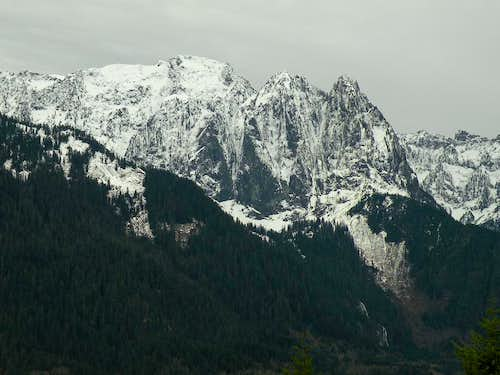 Mount Index from Heybrook Lookout