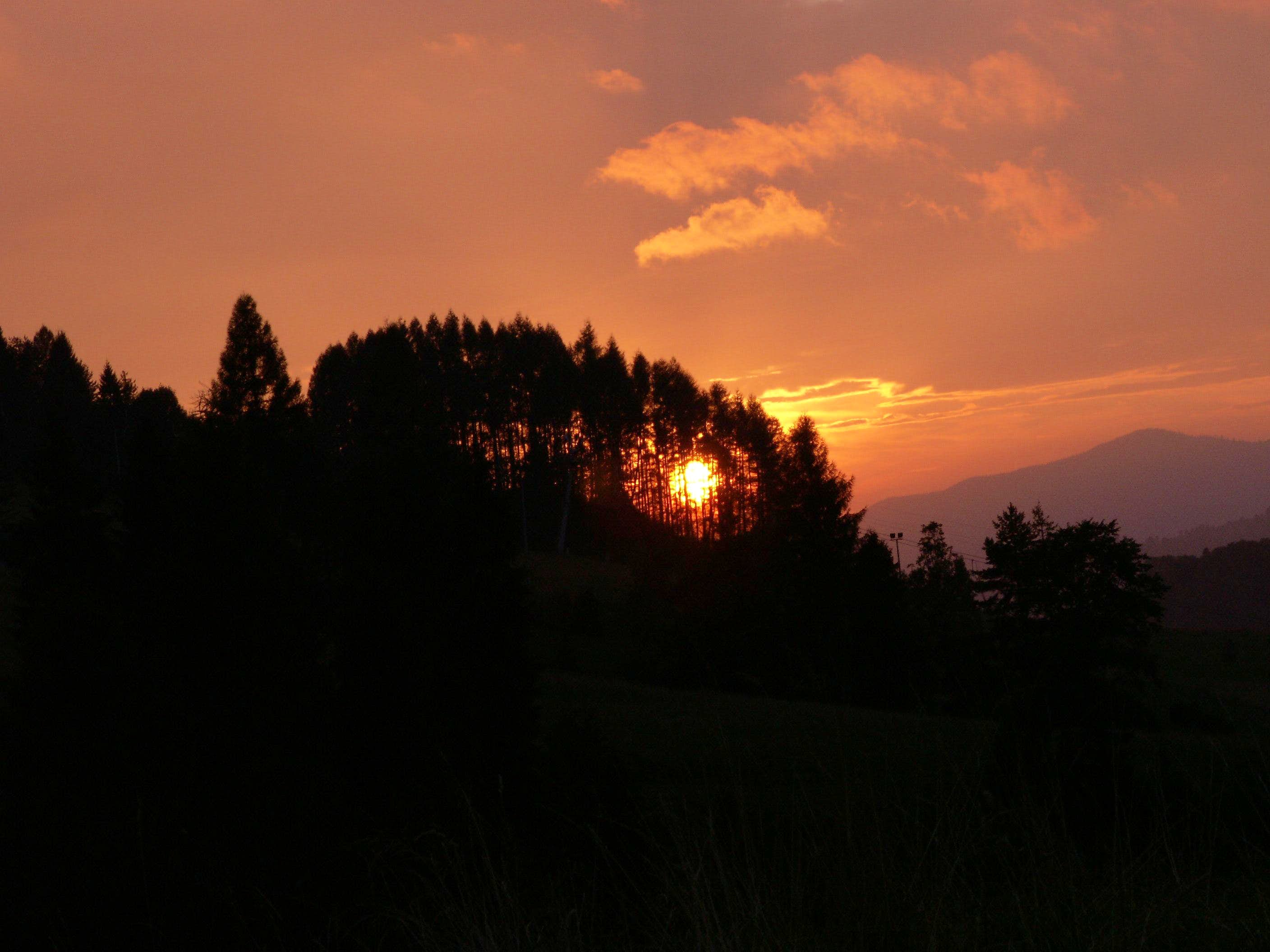 MY SUNSETS IN THE PIENINY MTS.