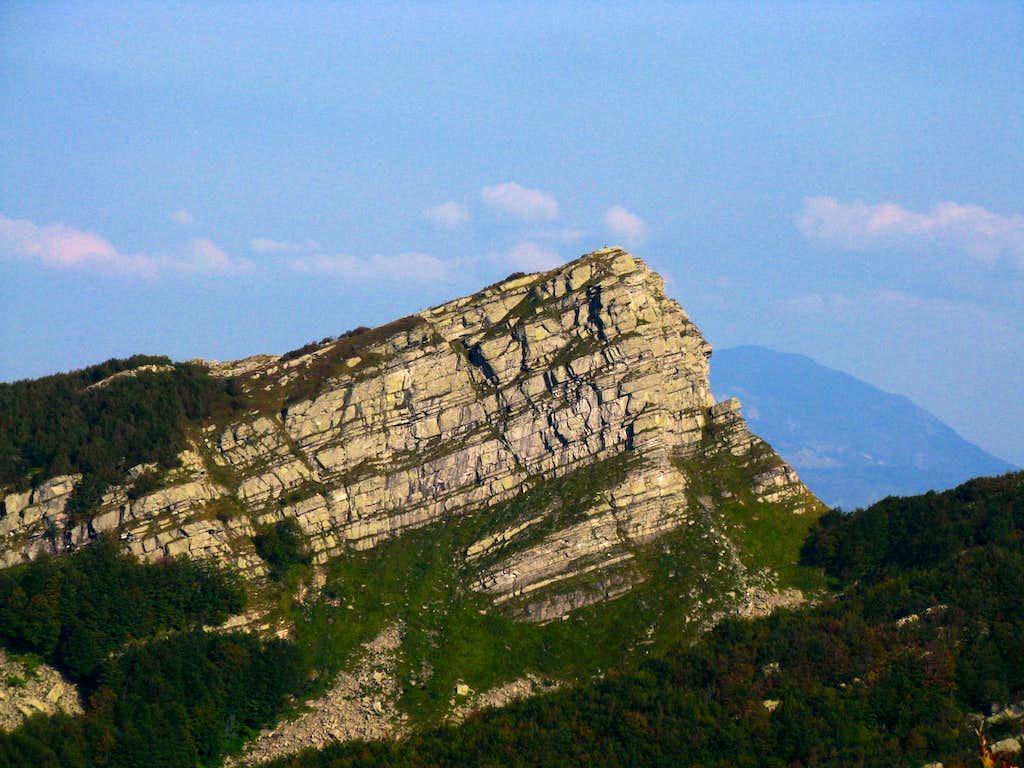 Rocca Pumacioletto SW side