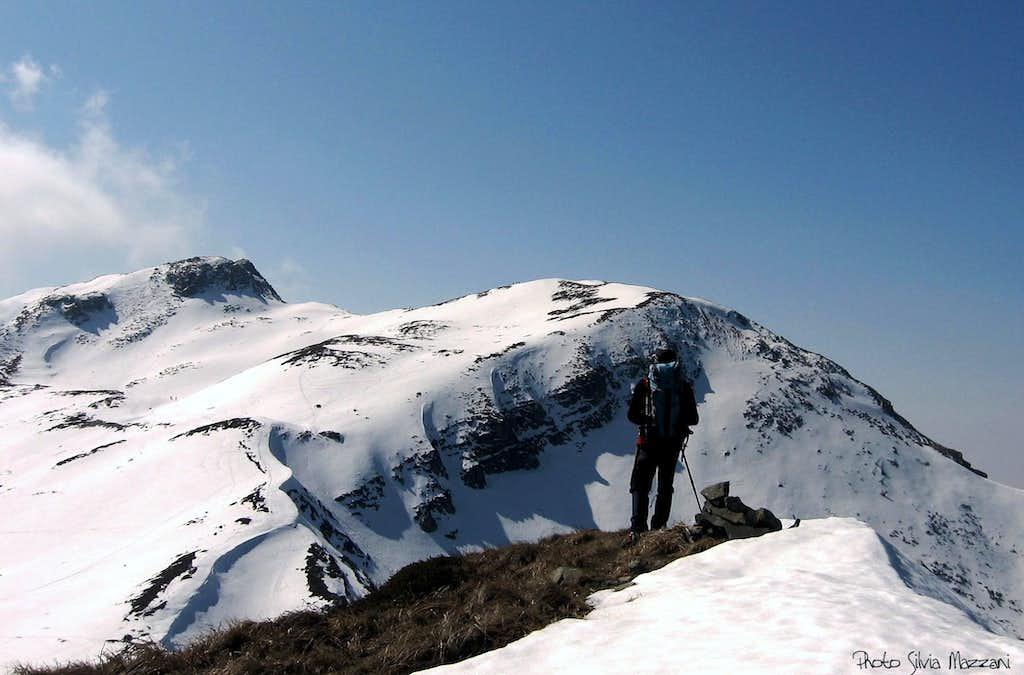 Monte Matto with Anti-Matto from Scala summit