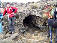 Lava tubes on Mawenzi