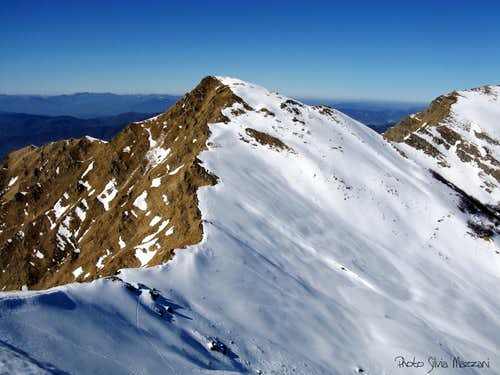 Monte Braiola seen from Monte Marmagna