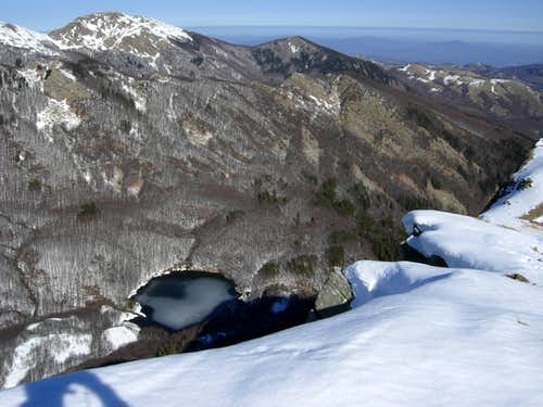 Pradaccio Lake from Roccabiasca summit