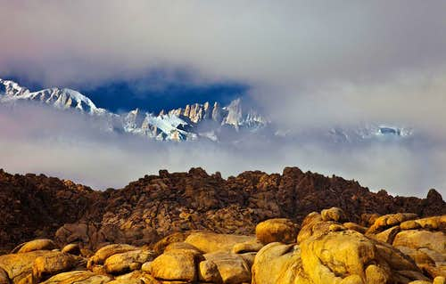 Mt.Whitney - The Decisive Moment