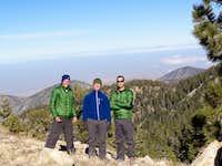 Mt Pinos peak