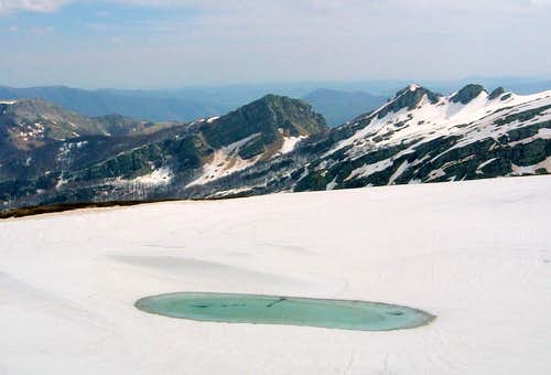 The little Glass Lake (Lago Bicchiere)