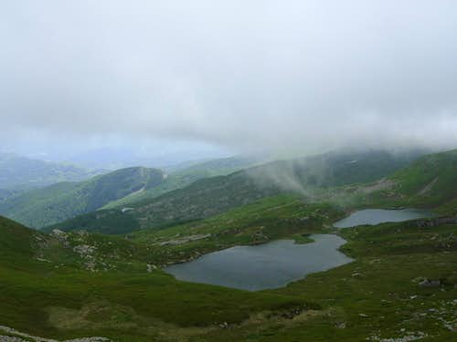 Sillara Twin Lakes in early summer