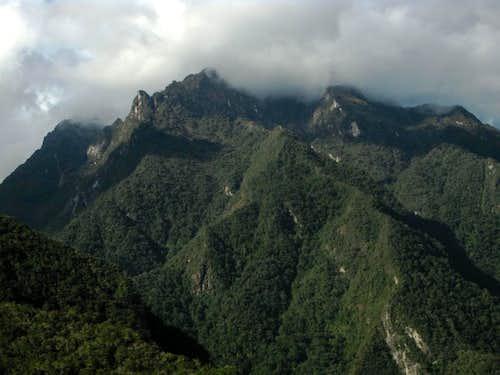 The Cordillera Urubamba