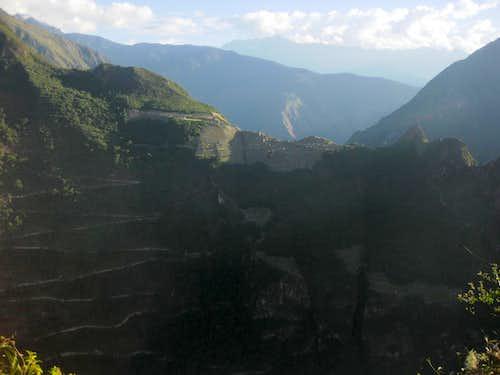 Machu Picchu from Putucusi