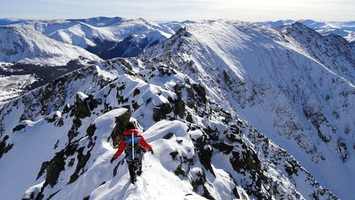 The A-Basin Traverse in Calendar Winter