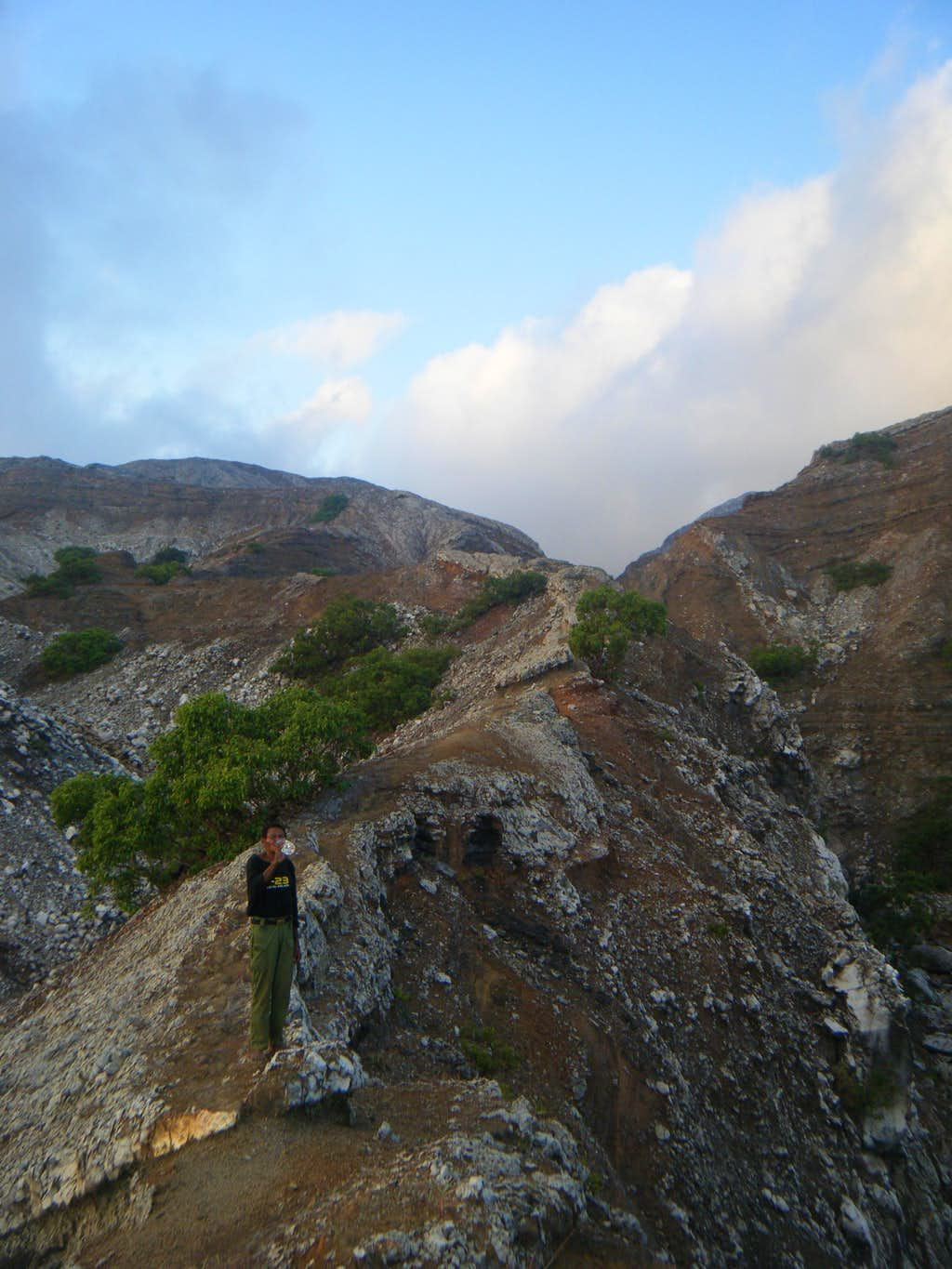 Trail to Sirung Crater