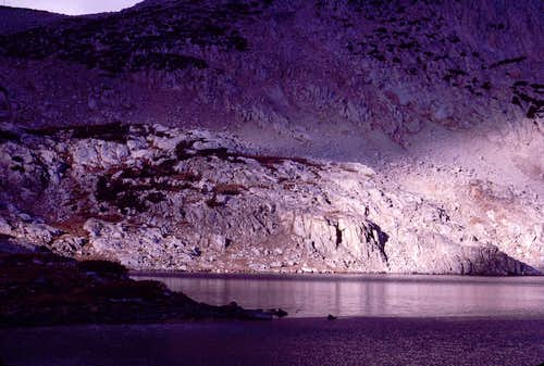 Sunlight and Saddlerock Lake