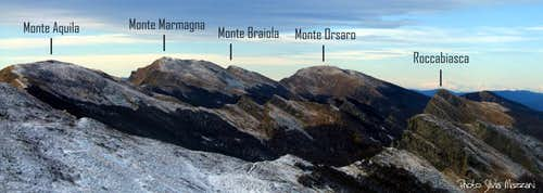 Appennino Parmense Orientale - View from NE