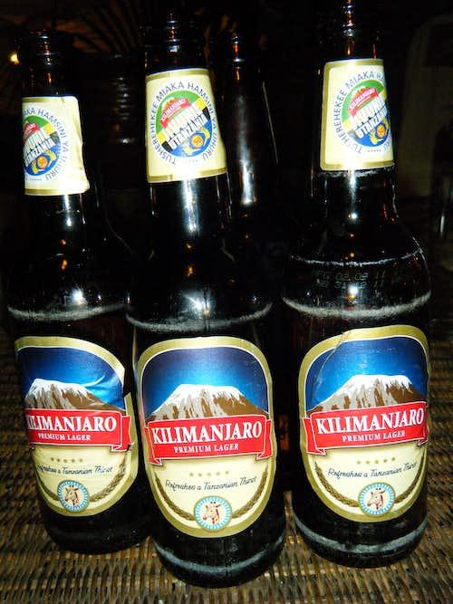Kilimanjaro Beer!