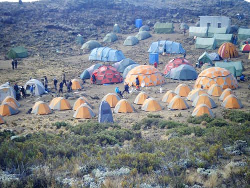 Mawenzi Tarn Camp 3