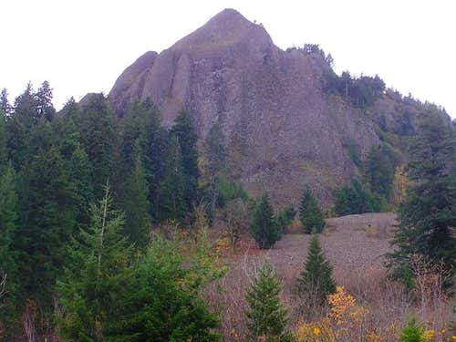Rockface on the east side of...