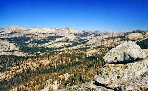 Hoffman Range from Sunrise Ridge