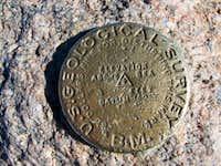 Highest point on Longs Peak