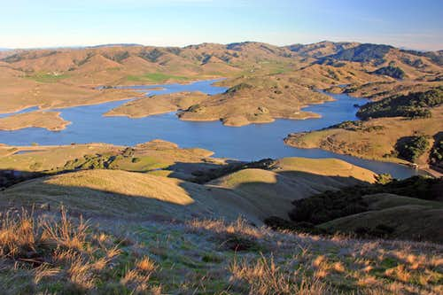 Nicasio Reservoir from Black Mountain