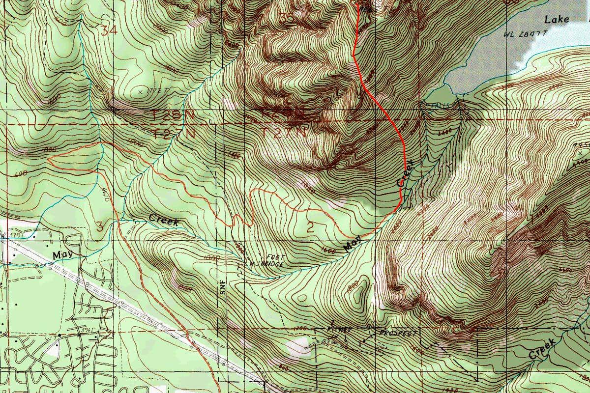 zekes peak topographic map. zekes peak topographic map  photos diagrams  topos  summitpost