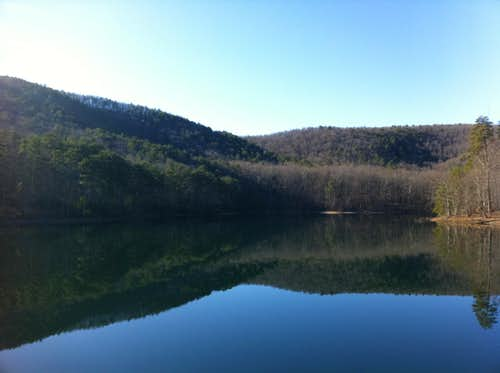 Reservoir 3 on North Lake Trail