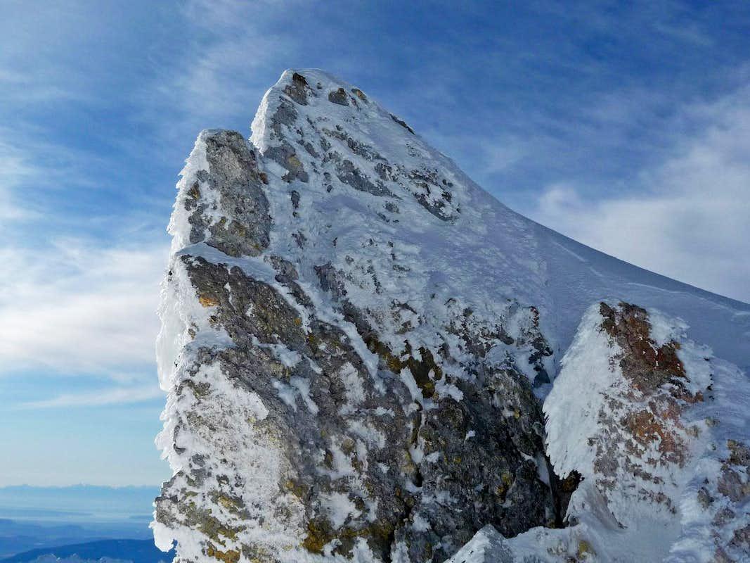 Ice Covered Rock   Photos  Diagrams  U0026 Topos   Summitpost