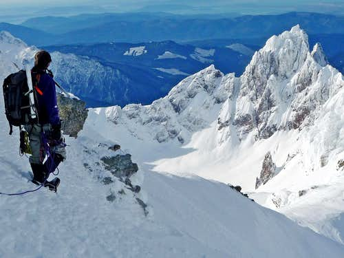 Steve with Colfax Peak
