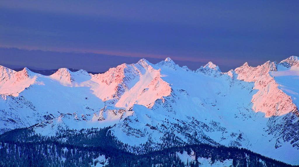 Sunrise on South Twin