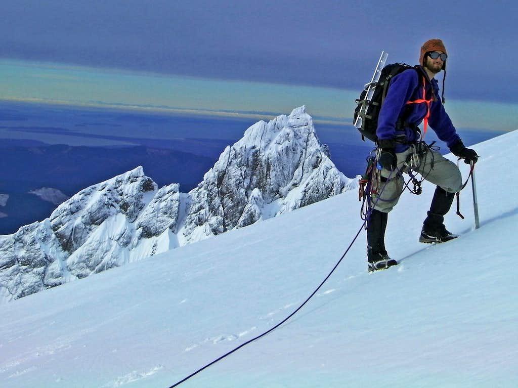 High Up on Mount Baker
