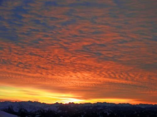 Sherman Peak Winter Ascent