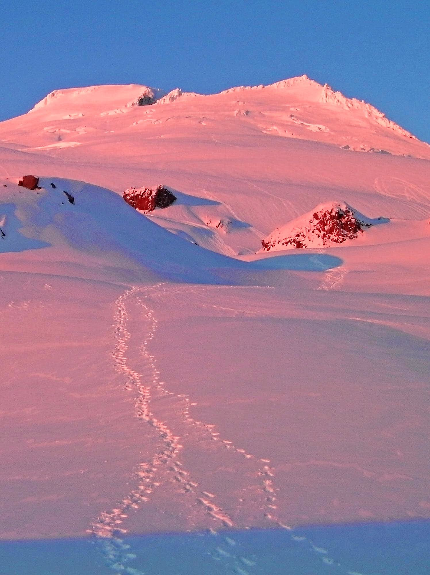 Winter Ascent of Mount Baker
