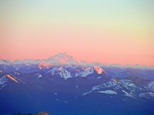 Sunset on Glacier Peak