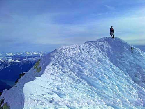 Sherman Peak's Summit