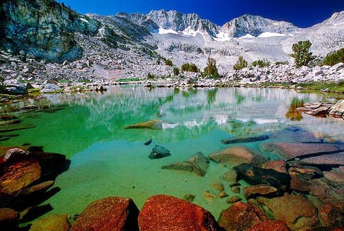 Packsaddle Lake, Humphreys Basin, Sierra Nevada