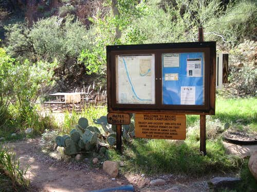 The Bright Angel Campground