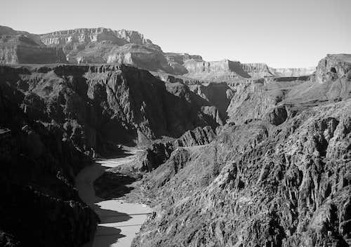 South Rim over the Colorado River