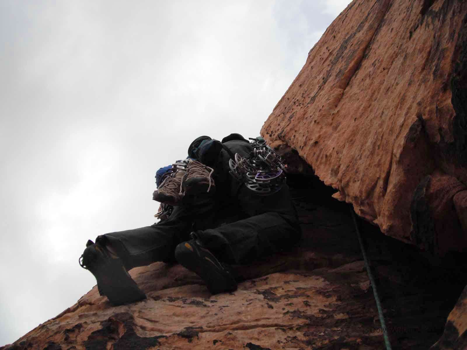 Whoosh, 5.8, 3 Pitches