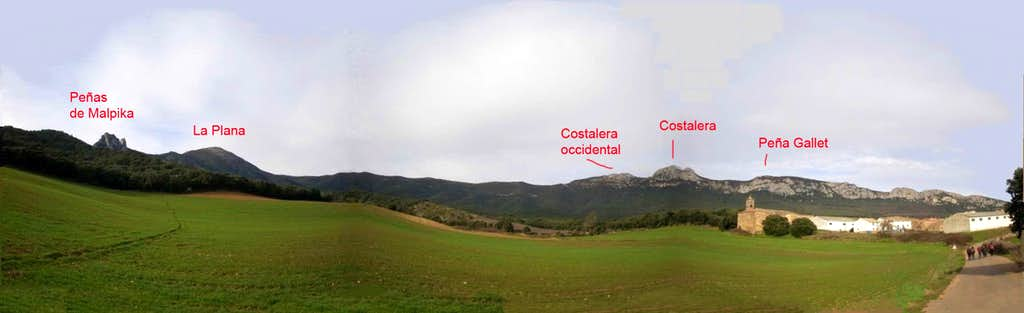 South face of Costalera