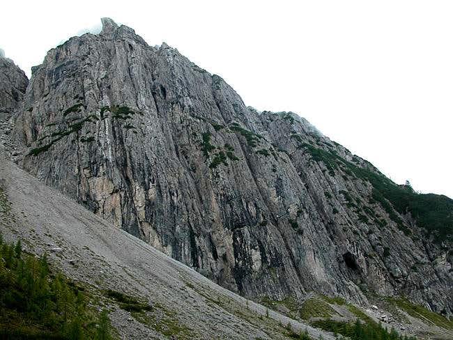 Bloßkofel (2400m), Sept 16th...