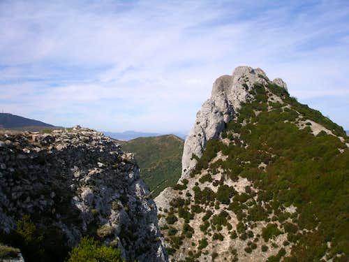 Costalera east face