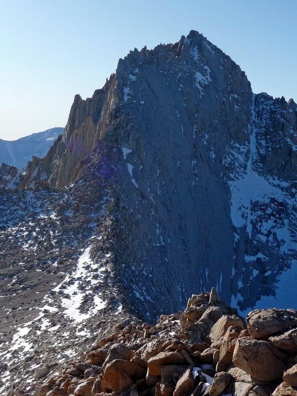 Mount Russell's East Ridge